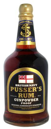 Picture of Pusser's Gunpowder Rum