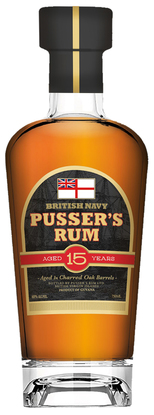 Picture of Pusser's  Aged 15 Years Rum