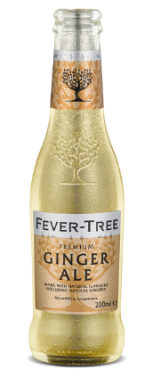 Picture of Fever Tree Ginger Ale 24 x 200ml (1 Carton)