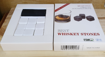 Picture of Whisky Stones White Ceramic